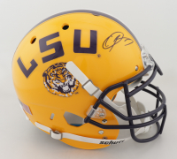 Odell Beckham Jr. Signed LSU Tigers Full-Size Authentic On-Field Helmet (JSA COA) at PristineAuction.com
