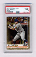 Pete Alonso 2019 Topps Update Gold #US47 AS #1,593/2,019 (PSA 9) at PristineAuction.com