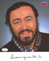 Luciano Pavarotti Signed 8x10 Print (JSA COA) at PristineAuction.com