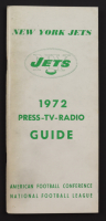 1972 Vintage Media Guide, Roster, and Print Out of Jet Streams Sports Cast at PristineAuction.com