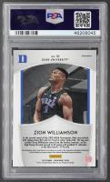 Zion Williamson 2019-20 Panini Prizm Draft Picks Prizms Blue #51 Crusade RC (PSA 9) at PristineAuction.com