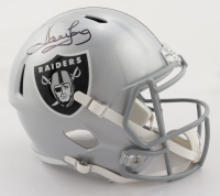 Howie Long Signed Raiders Full-Size Speed Helmet (Beckett COA) at PristineAuction.com