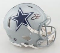 Emmitt Smith Signed Cowboys Full-Size Authentic On-Field Speed Helmet (Beckett Hologram & Prova COA) at PristineAuction.com