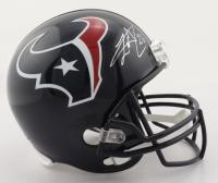 Lamar Miller Signed Texans Full-Size Helmet (JSA COA) at PristineAuction.com