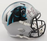 Luke Kuechly Signed Panthers Full-Size Speed Helmet (Beckett COA) at PristineAuction.com