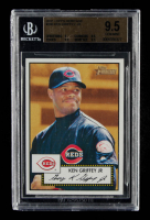 Ken Griffey Jr. 2001 Topps Heritage #200 (BGS 9.5) at PristineAuction.com