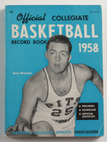 1958 Official Collegiate Basketball Record Paperback Book (See Description) at PristineAuction.com