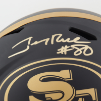 Jerry Rice Signed 49ers Full-Size Eclipse Alternate Speed Helmet (Beckett COA) at PristineAuction.com