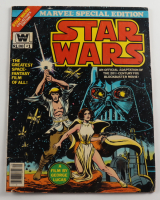"""Vintage 10x13.5 1977 """"Star Wars"""" Issue #1 Special Edition Marvel Comic Book (See Description) at PristineAuction.com"""