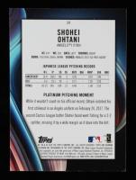 Shohei Ohtani 2018 Bowman Platinum #34 RC at PristineAuction.com