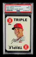 Mike Trout 2015 Topps Archives '68 Topps Game Inserts #2 (PSA 9) at PristineAuction.com