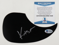 Krist Novoselic Signed Acoustic Guitar Pickguard (Beckett COA) at PristineAuction.com