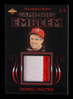 Darrell Waltrip 2019 President's Choice Game-Used Emblem #1/1 at PristineAuction.com