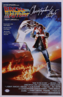 """Christopher Lloyd Signed """"Back to the Future"""" 11x17 Movie Poster Print (PSA COA) at PristineAuction.com"""