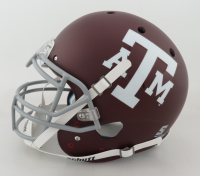 """Johnny Manziel Signed Texas A&M Aggies Full-Size Authentic On-Field Helmet Inscribed """"'12 Heisman"""", """"2012 All American Bad***"""" & """"Johnny Fu**** Football"""" (JSA COA) at PristineAuction.com"""