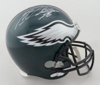Miles Sanders Signed Eagles Full-Size Helmet (JSA COA) (See Description) at PristineAuction.com