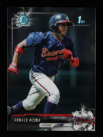 Ronald Acuna 2017 Bowman Chrome Prospects #BCP127 at PristineAuction.com
