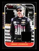 Jimmie Johnson 2020 Donruss Retro Relics '87 Red #13 #072/250 at PristineAuction.com