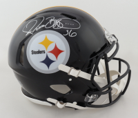 Jerome Bettis Signed Steelers Full-Size Authentic On-Field Speed Helmet (Beckett Hologram) at PristineAuction.com