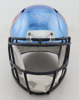 J.J. Watt Signed Texans Full-Size Chrome Speed Helmet (JSA COA) at PristineAuction.com