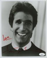 """Henry Wrinkler Signed 8x10 Photo Inscribed """"Love"""" & 1991"""" (JSA COA) (See Description) at PristineAuction.com"""