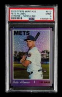 Pete Alonso 2019 Topps Heritage Chrome Purple Refractors #THC519 (PSA 9) at PristineAuction.com