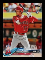 Shohei Ohtani 2018 Topps Update #US285 RD at PristineAuction.com