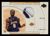 Kobe Bryant 2002-03 Ultimate Collection Jerseys Patches #KBP #49/50 at PristineAuction.com
