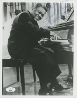"""Fats Domino Signed 8x10 Photo Inscribed """"God Bless You And Luck Always"""" (JSA COA) at PristineAuction.com"""