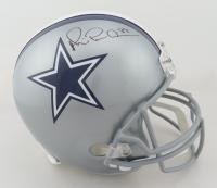 "Michael ""Playmaker"" Irvin Signed Cowboys Full-Size Helmet (JSA COA) at PristineAuction.com"