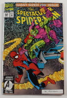 """Vintage 1993 """"Spectacular Spider-Man"""" Vol. 1 Issue #200 Special Edition Aluminum Foil Marvel Comic Book at PristineAuction.com"""