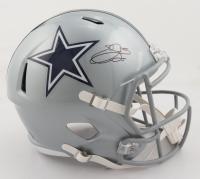 Emmitt Smith Signed Cowboys Full-Size Speed Helmet (Beckett COA & Prova COA) at PristineAuction.com