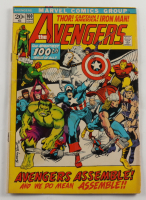 """Vintage 1972 """"The Avengers"""" Issue #100 Marvel Comic Book at PristineAuction.com"""
