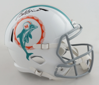 Bob Griese Signed Dolphins Full-Size Speed Helmet (Beckett Hologram) at PristineAuction.com
