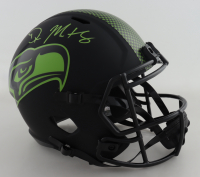 D.K. Metcalf Signed Seahawks Full-Size Eclipse Alternate Speed Helmet (Beckett COA) at PristineAuction.com