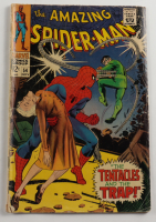 """Vintage 1967 """"The Amazing Spider-man"""" Issue #54 Marvel Comic Book at PristineAuction.com"""