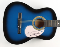 Carrie Underwood Signed Acoustic Guitar (Beckett COA) (See Description) at PristineAuction.com