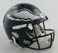 Jalen Hurts Signed Eagles Full-Size Speed Helmet (JSA COA) at PristineAuction.com