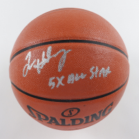 """Tim Hardaway Signed NBA Game Ball Series Basketball Inscribed """"5x All Star"""" (MAB Hologram) at PristineAuction.com"""