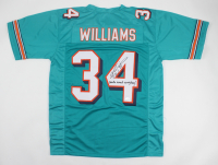 """Ricky Williams Signed Jersey Inscribed """"Smoke Weed Everyday!"""" (JSA COA) (See Description) at PristineAuction.com"""