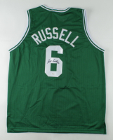 Bill Russell Signed Jersey (JSA COA) at PristineAuction.com