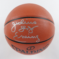"Julius ""Dr. J"" Erving Signed NBA Game Ball Series Basketball (JSA COA) at PristineAuction.com"