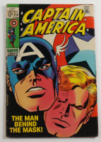 """Vintage 1969 """"Captain America"""" Issue #114 Marvel Comic Book at PristineAuction.com"""