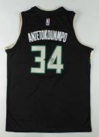 Giannis Antetokounmpo Signed Bucks Jersey (Beckett COA) (See Description) at PristineAuction.com