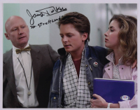 """James Tolkan Signed """"Back to the Future"""" 11x14 Photo Inscribed """"Mr. Strickland"""" (PSA COA) at PristineAuction.com"""
