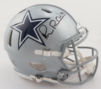 Michael Irvin Signed Cowboys Full-Size Authentic On-Field Speed Helmet (Beckett Hologram) at PristineAuction.com