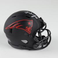N'Keal Harry Signed Patriots Eclipse Alternate Speed Mini Helmet (Beckett COA) (See Description) at PristineAuction.com
