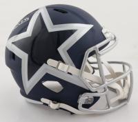 "Michael ""Playmaker"" Irvin Signed Cowboys Full-Size AMP Alternate Speed Helmet (Beckett COA) (See Description) at PristineAuction.com"