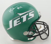 Keyshawn Johnson Signed Jets Full-Size Helmet (JSA Hologram) at PristineAuction.com