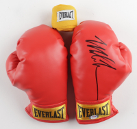 Pair of (2) Mike Tyson Signed Everlast Boxing Gloves (PSA COA) at PristineAuction.com